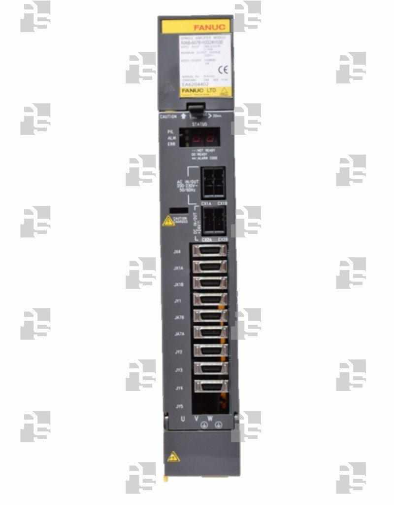 A06B-6078-H102#H500 SPINDLE MODULE SPM 2.2 TYPE 4