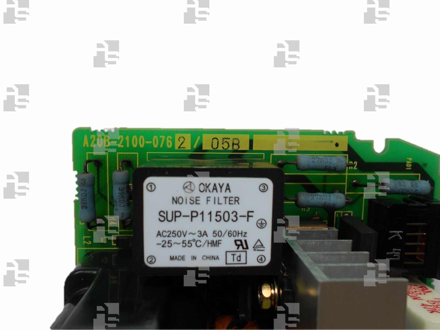 A20B-2100-0762 FANUC POWER CONTROL BOARD ALPHA ISP