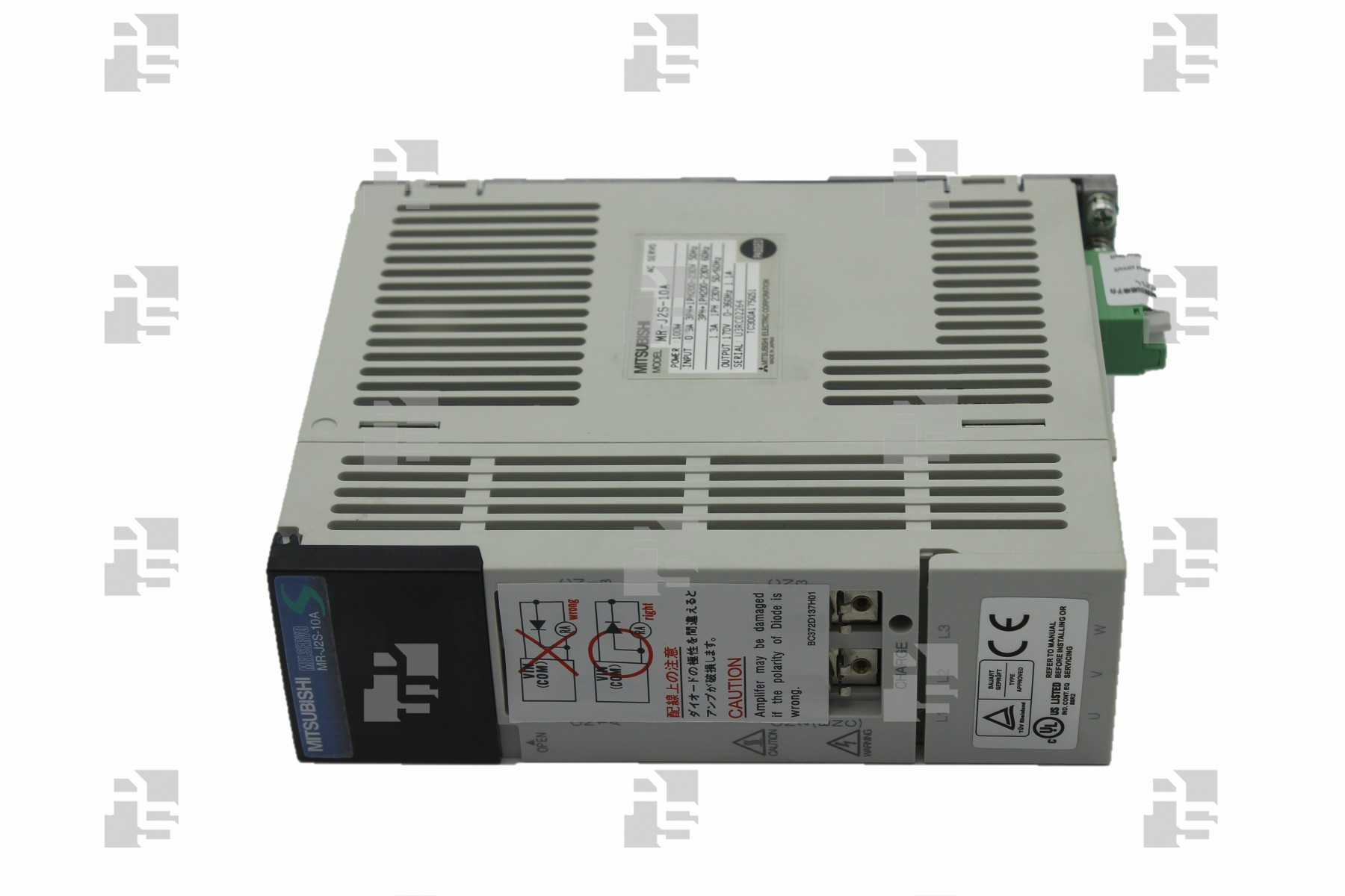 MITSUBISHI MR-J2S-10A AC Servo Amplifier