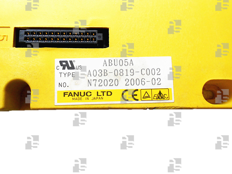 A03B-0819-C002 BASE UNIT ABU5A HORIZONTAL TYPE, 5 SLOTS