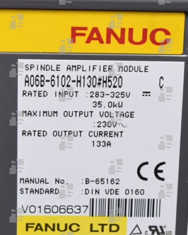 A06B-6102-H130#H520 SPINDLE MODULE SPM 30 TYPE 4