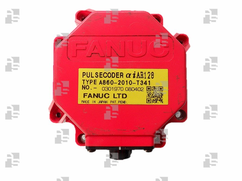 A860-2010-T341 FANUC ALPHA iAR128 PULSE CODER FOR ROBOT PERIPHERAL AXIS