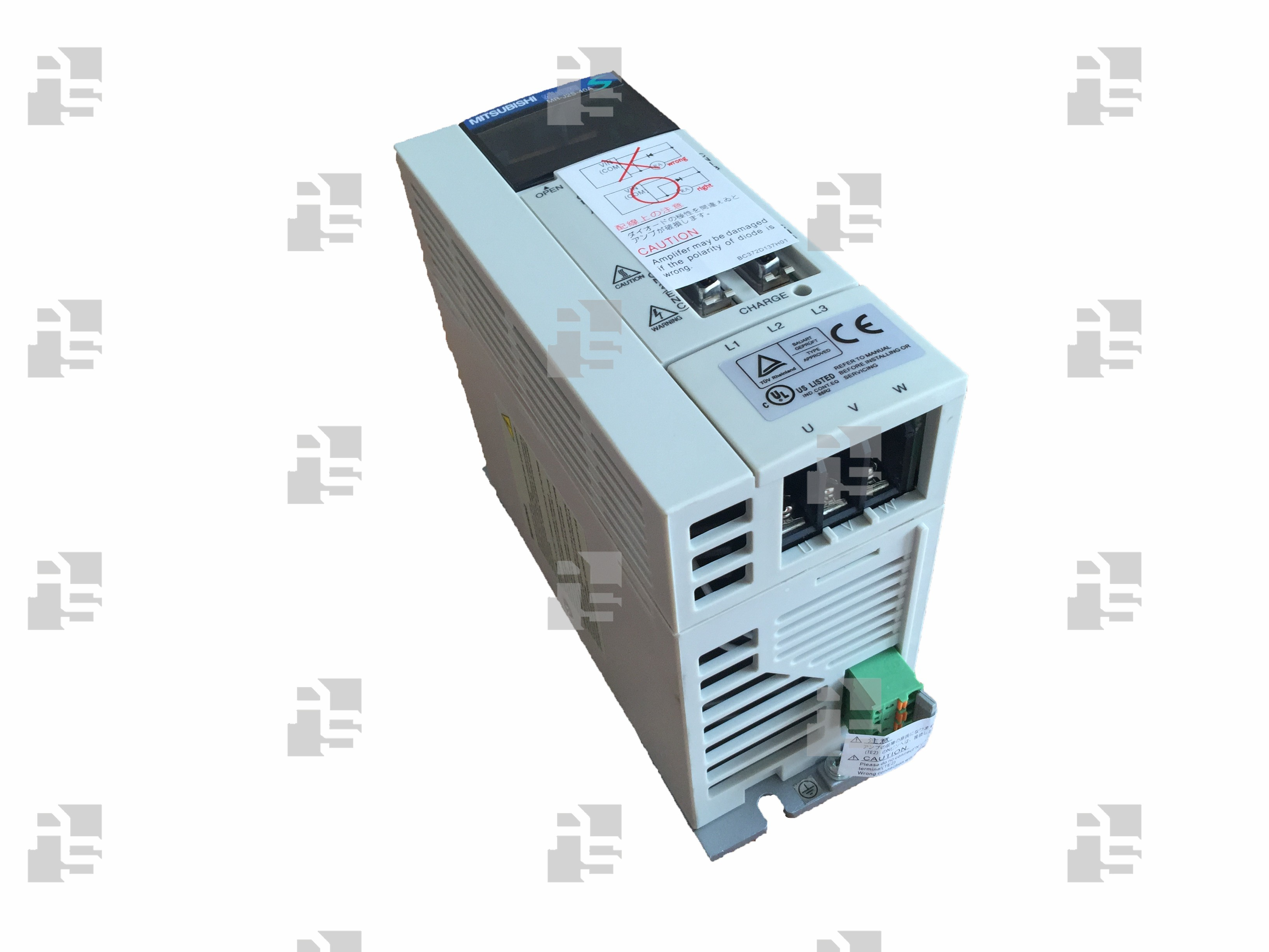 MITSUBISHI MR-J2S-40A Axis Drive